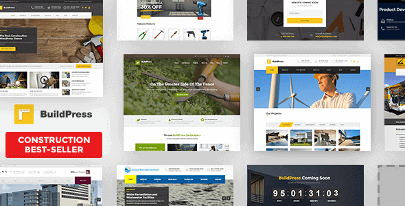 Buildpress – Construction Business Wp Theme