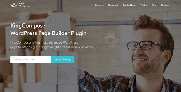 Kingcomposer Pro – Wordpress Page Builder Plugin