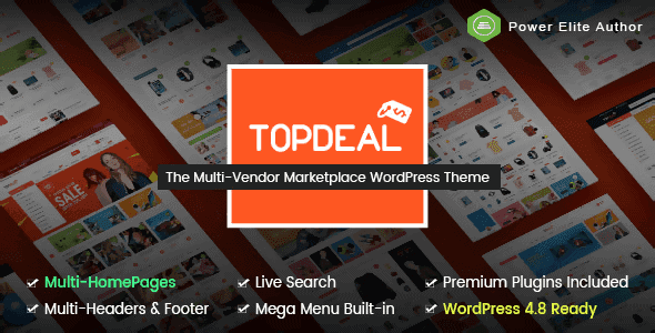 Topdeal – Multipurpose Marketplace WordPress Theme