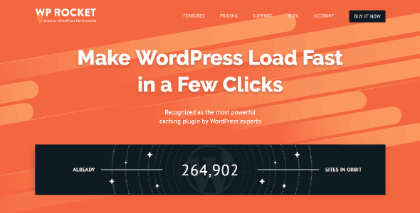 Wp Rocket – The Best Wordpress Performance Plugin