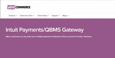 Woocommerce Intuit Payments Qbms Gateway